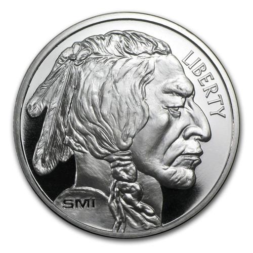 Sunshine Mint Buffalo 1 oz Silver Round