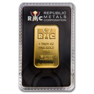 Republic Metals Corporation 1 oz Gold Bar (In Assay)