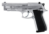 Taurus 92 - 9mm Pistol with Rubber Grips in Stainless Steel