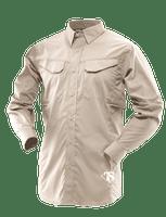 Tru-Spec 24-7 Series Men's Ultralight Long Sleeve Field Shirt - Khaki