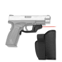Crimson Trace LG-448H Laserguard with IWB Holster for Springfield Armory XD and XD(M)