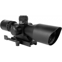 AIM Sports Titan 3-9X40MM QR Mount Scope with BDC and Rangefinder Reticle