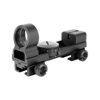 AIM Sports 1X25MM Reflex Sight with Interchangeable Weaver/ Dovetail Base