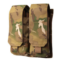 Blackhawk AK-47 Double Mag Pouch (Holds 4) - USA Molle - MultiCam