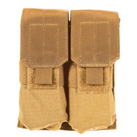 Blackhawk M4/M16 Double Mag Pouch (Holds 4) - USA Molle - Coyote Tan