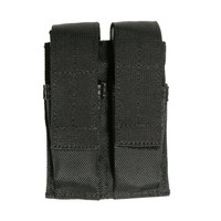 Blackhawk Belt Mounted Double Mag Pouch - Black
