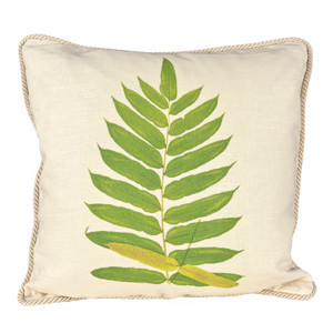 Buckler Fern Ox Bow Pillow