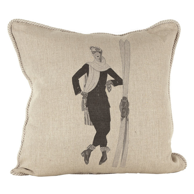 Ready for the Slopes Ox Bow Pillow