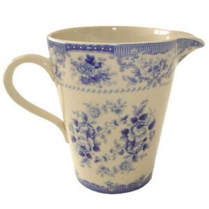 Powell Craft - Blue Rose China Measuring Jug