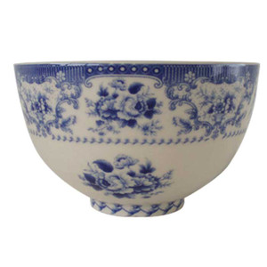 Powell Craft - Blue Rose China Sugar Bowl
