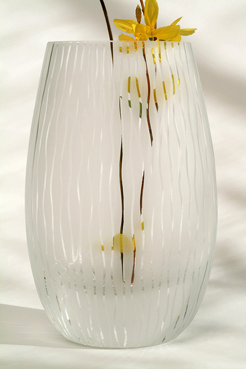 Seagrass Oval Vase by Penelope Wurr
