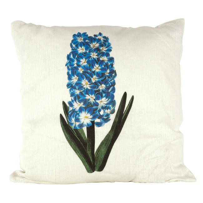 Hyacinth Ox Bow Linen Pillow