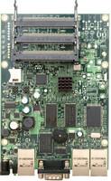 MikroTik 300Mhz CPU, 64MB SDRAM, 3 LAN, 3 miniPCI, LVL 4 OS, RB/433
