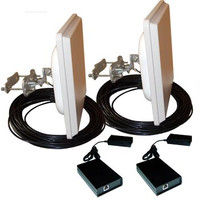 Airaya 5 Ghz Outdoor Bridge Kit, Integrated, 300ft CAT5, WG-300-0-300