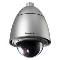 Panasonic 720p HD Outdoor PTZ Network Camera, POE+, Rain Coat, WV-SW395A