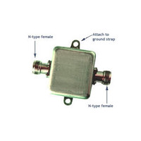 Airaya 5GHz RF Lightning Arrestor (N-female to N-female), AI108-LA5