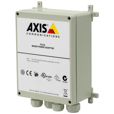 Axis ACC MAINS ADAPTER PS24, 5000-001