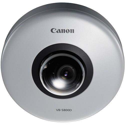 Canon VB-S800D 2.1MP Fixed Micro Dome Network Camera, 8820B001