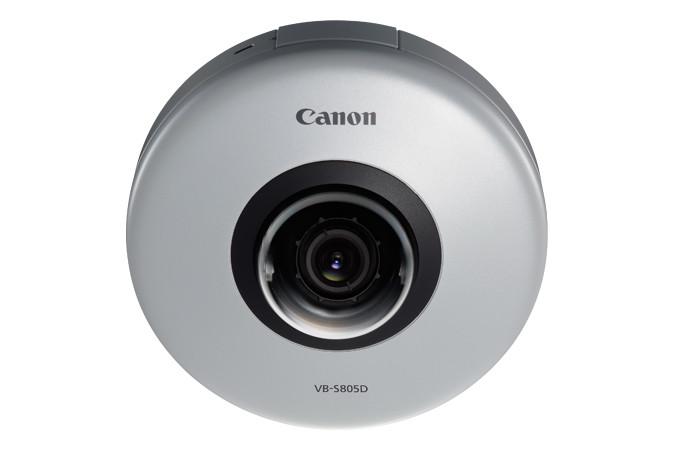 Canon VB-S805D 1.3MP 720P Fixed Micro Dome Network Camera, 9900B001