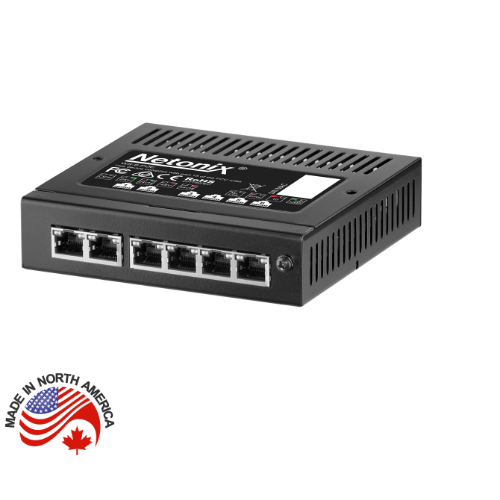 Netonix 6 Port Wisp Switch, WS-6-MINI