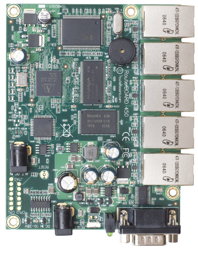 MikroTik 5 Port AR7130 300MHz RouterBoard, RB450