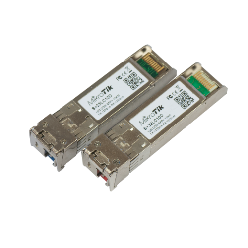 MikroTIk SFP Modules 10G 10km Pair of Bi-Dir Modules, S+2332LC10D