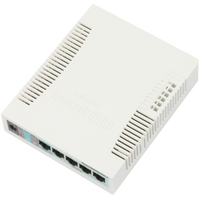MikroTik 5 port SOHO switch, RB260GSP