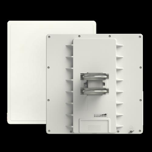 MikroTik QRT5 ac, 4.9-5.875GHz, Rugged Outdoor 24db High Gain Flat Panel Antenna, RB911G-5HPACD-QRT
