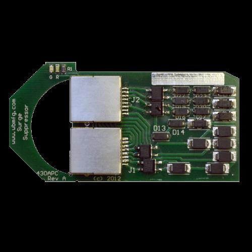 MTC, Rack Mount 100 Mbps 430 Ethernet Surge Protector, 800-430-APC-HV