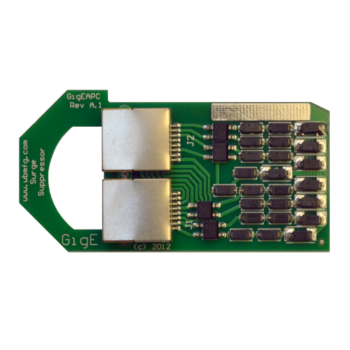 MTC, Rack Mount GigE-APC HV Ethernet Surge Protector, 800-GIGE-APC-HV