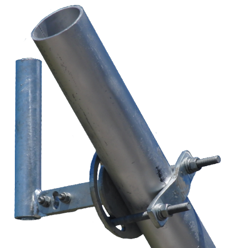 WBH, Horizontal Member Tower Mount - 10 Inch Pipe, 800-M-TOW-R-10