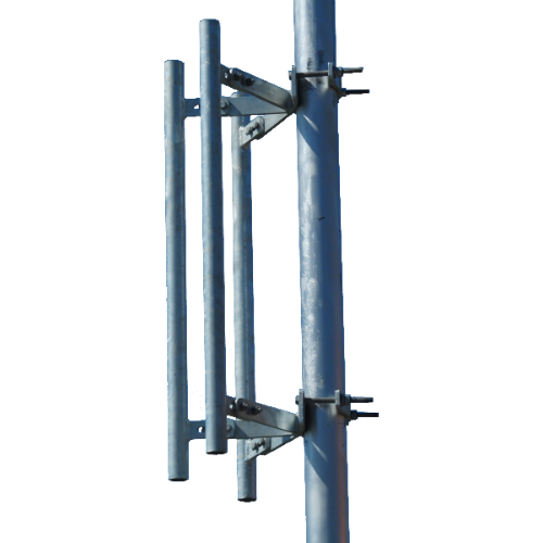"WBH, Sector Antenna Mount with 3 36"" Masts, M-TOW-3P-36"