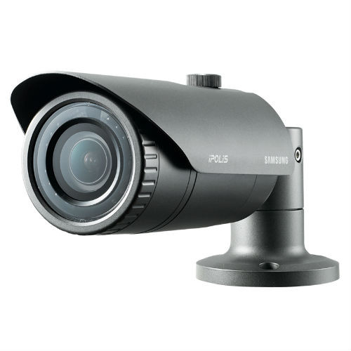 Samsung 4MP Outdoor IP66 Rated, True WDR IR Bullet Camera , All Options, QNO-7010R, QNO-7020R, QNO-7030R