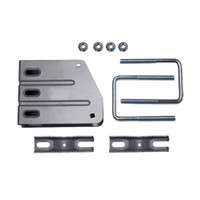 KP Performance U-bolt Bracket Kit for Pipe Mounting Reflector Dishes, KPPA-DPB