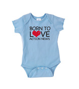 6abc Born to Love Action News Onesie