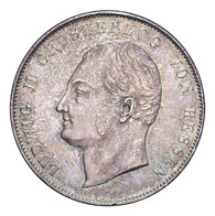 Germany: Hesse-Darmstadt Ludwig II 1837 Gulden Choice UNC