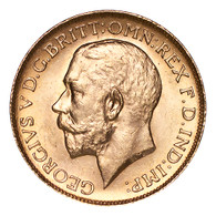 Canada George V 1911-C Gold Sovereign UNC