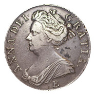Great Britain Anne 1707-E Crown VF
