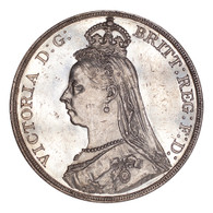 Great Britain Victoria 1889 Crown UNC