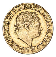 Great Britain George III 1817 Gold Sovereign AVF