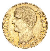 France: Consulate, 1799-1804 Napoleon An 12-A (1803/04) Gold 40 Francs GVF
