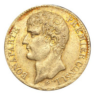 France: Consulate, 1799-1804 Napoleon An 11-A (1802/03) Gold 40 Francs GVF