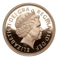 Great Britain Elizabeth II 2007 Gold 2 Pounds Proof FDC