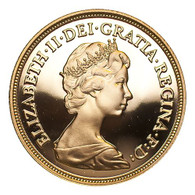 Great Britain Elizabeth II 1980 Gold Sovereign Proof FDC