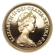 Great Britain Elizabeth II 1981 Gold Sovereign FDC