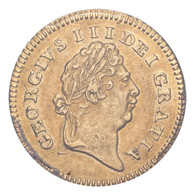 Great Britain George III 1802 Gold 1/3 Guinea PCGS AU55