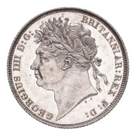 Great Britain George IV 1821 Shilling UNC