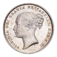 Great Britain Victoria 1841 Shilling Choice Mint State