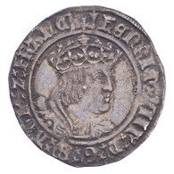 Great Britain Henry VIII 2nd coinage Groat EF