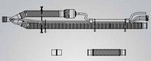 Pulmonetics Systems 15090-103 Heated Pediatric Patient Circuits